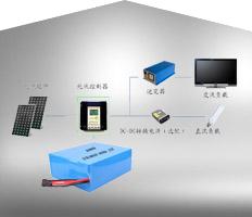 多功能照明系统储能电池