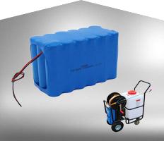 背伏式喷雾机备用电源方案