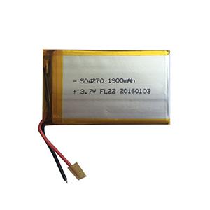 3.7V 1900mAh 504270可编程机器人电池