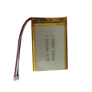 3.7V 2100mAh 725466 AI视频教育机器人电池