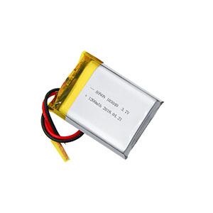 3.7V 103040-1200mAh手式感应舞蹈机器人电池