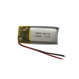3.7V 401119-50mAh 蓝牙耳机电池