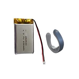 3.7V 652540-620mAh按摩器电池
